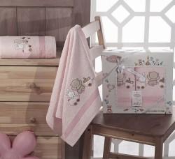 "Комплект полотенец ""KARNA"" детский BAMBINO-TRAIN 50x70-70х120 см"