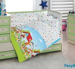 """Постельное белье """"Altinbasak"""" для новорожденных HAPPY KIDS"""