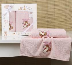 "Комплект полотенец ""KARNA"" детский BAMBINO-TEDDY 50x70-70х120 см"