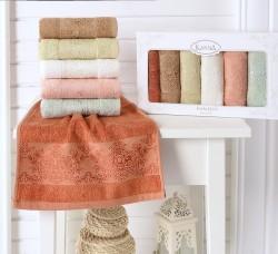 "Кухонные полотенца бамбук ""KARNA"" PANDORA 30х50 1/6"